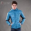 【JORDON 橋登 男 超輕撥水羽絨夾克《海藍》】993/輕量羽絨衣/羽絨外套/保暖外套