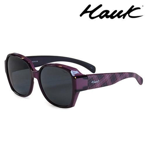 HAWK 新型薄框偏光太陽眼鏡套鏡(2用)HK1025-98