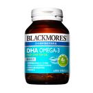 【預購】BLACKMORES 澳佳寶 DHA精粹濃縮深海魚油 60顆【瑞昌藥局】017303 孕期.哺乳期補充