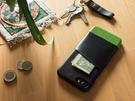 alto iPhone SE2 /8/7通用款 真皮手機殼背蓋 4.7吋 Metro - 渡鴉黑/萊姆綠 【可加購客製雷雕】皮革保護套