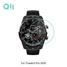 現貨 兩片裝 Qii Ticwatch Pro 2020 玻璃貼 鋼化玻璃貼 自動吸附 2.5D弧邊 手錶保護貼