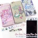 【Disney 】iPhone 6 Plus/6s Plus 愛麗絲玻璃保護貼+彩繪保護軟套
