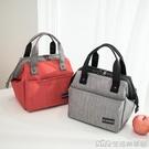 日式三層保溫手提包鋁箔加厚帶飯便當包大容量防漏環保時尚飯盒袋【樂事館新品】