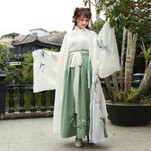 漢服女中國風古裝服裝清新淡雅襦裙