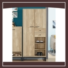 【多瓦娜】路德2.7尺高鞋櫃 21152-531003
