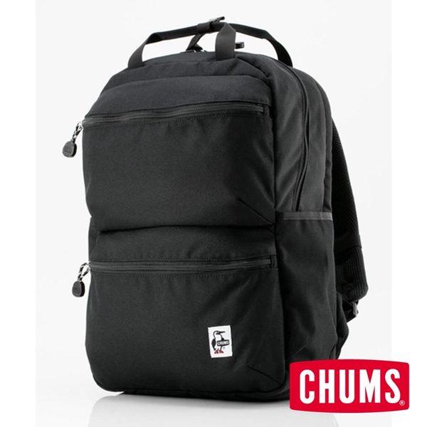 CHUMS Eco Front Pocket 後背包 黑色 CH602524K001