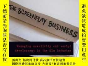 二手書博民逛書店The罕見Screenplay Business-劇本業務Y436638 Peter Bloore Routl