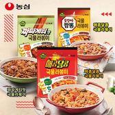 韓國 農心 年糕麵魚板料理 年糕麵 炒年糕 炸醬麵 炒碼麵 泡麵 料理包 韓式料理 露營
