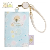 日本限定 角落生物 海洋版 伸縮 票卡夾 / 證件夾套 / 悠遊卡套