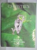 【書寶二手書T6/收藏_PMZ】Christie s_Magnificent…Jadeite_1999/4/27