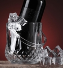 家用冰桶冰塊桶小號冰鎮制冰桶玻璃KTV酒吧紅酒裝冰塊的桶加厚款 傑森型男館