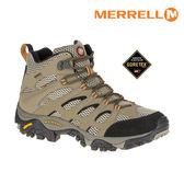MERRELL 男 MOAB MID GTX 戶外多功能鞋ML87311 / 城市綠洲 (防臭抗菌、黃金大底、防水透氣、雪靴)
