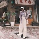 Queen Shop【04110340】質感純色高腰打褶長褲 四色售 S/M*現+預*