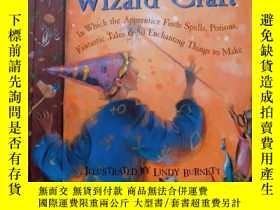 二手書博民逛書店the罕見book of wizard craftY388948 lindy burnett