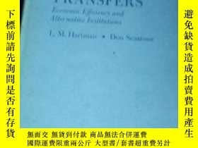 二手書博民逛書店water罕見transfers economic efficiency and alternative inst