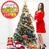 聖誕樹聖誕裝飾品 聖誕節禮物聖誕節裝飾聖誕樹套餐裝1.5米聖誕樹WY【快速出貨限時八折優惠】