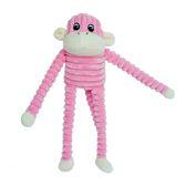 【毛麻吉寵物舖】ZippyPaws 就是愛吵鬧-小粉猴史賓賽  有聲玩具