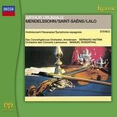 【停看聽音響唱片】【SACD】葛羅米歐:孟德爾頌 / 聖桑 / 拉羅 小提琴:亞瑟 · 葛羅米歐