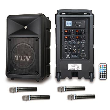 台灣精品 TEV TA680i-4 藍芽/USB/SD四頻無線擴音機 可播 藍芽、USB、SD Card *廣播教學 戶外活動