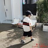童裝男童襯衫薄款夏季薄款個性衣寬松時髦兒童上衣【齊心88】