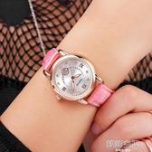 新款手錶女時尚潮流韓版女士休閒女錶帶石英錶女防水