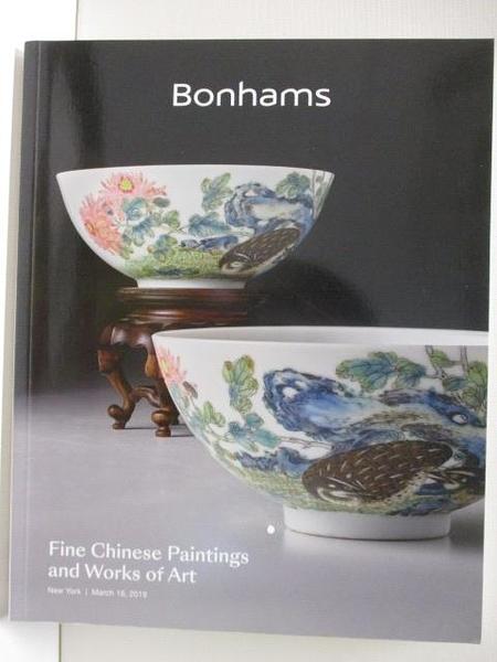 【書寶二手書T2/收藏_DBQ】Bonhams_Fine Chinese Paintings and…Art_2019/3/18