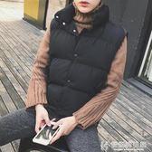 馬甲季棉男士保暖背心網紅韓版潮流牌加絨情侶輕薄棉坎肩 快意購物網