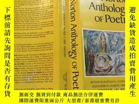 二手書博民逛書店The罕見Norton Anthology of Poetry,