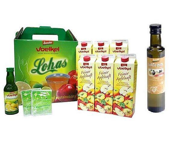 德國  維可有機蘋果汁+有機檸檬汁+纖元素+瀉鹽+德國有機希臘冷壓橄欖油