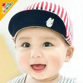 韓版嬰兒帽子春秋嬰兒鴨舌帽2-6-12-24個月男女寶寶帽字  朵拉朵衣櫥