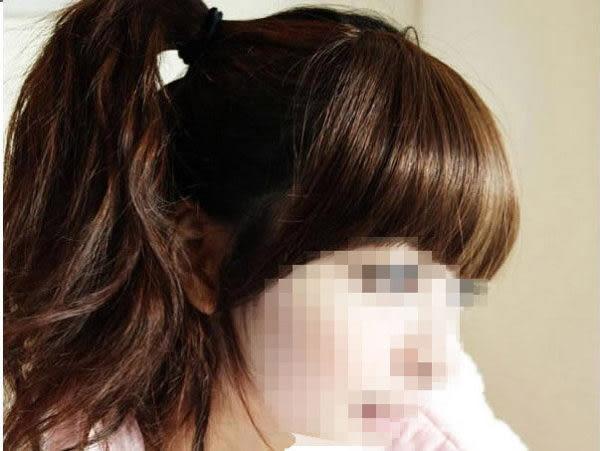 假髮   齊瀏海髮片 髮片 高絲溫卡絲  【WHH001】-收納女王
