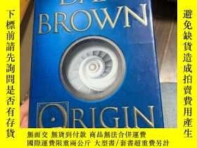 二手書博民逛書店DAN罕見BROWN ORIGIN 外文原版精裝Y190426