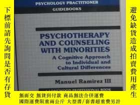 二手書博民逛書店英文原版罕見Psycho and Counseling With