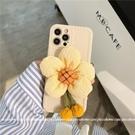 立體太陽花適用12promax蘋果x手機殼iphone11個性xr/7女8plus/pro