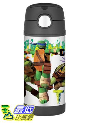 [美國直購] Thermos F4016NT6 Funtainer 12 Ounce Bottle, Teenage Mutant Ninja Turtles 兒童保溫水壺