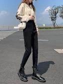 牛仔褲女2020年新款秋冬季九分哈倫老爹蘿蔔長褲顯瘦外穿