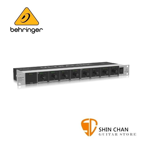 Behringer 耳朵牌 DS2800 2輸入8輸出訊號分配器【DS-2800 / Distribution Splitter】