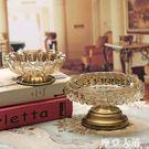 歐式水晶玻璃煙灰缸創意個性潮流美式奢華大號客廳茶幾家用擺件『摩登大道』