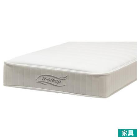 ◎[陽岱鋼代言]柔軟舒適 獨立筒彈簧床 床墊 N-SLEEP S1-02 雙人加大 NITORI宜得利家居