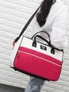 韓版旅行包女手提防水行李包大容量衣服包輕便短途小旅遊袋男健身 現貨快出