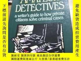 二手書博民逛書店AMATEUR罕見DETECTIVES 有私藏章Y9837 ELAINE RACO writer 出版199