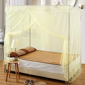 蚊帳 蚊帳單開門加粗不銹鋼學生1.2米落地支架1.5m床雙人家用加密【快速出貨八折搶購】