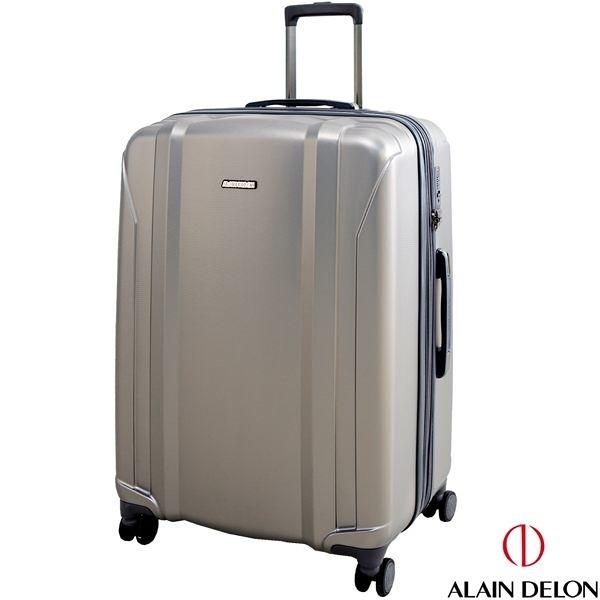 ALAIN DELON亞蘭德倫 星燦旅者系列 可擴充設計 行李箱/旅行箱-24吋(灰)