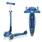 法國GLOBBER 兒童2合1三輪折疊滑板車夢幻版(LED發光前輪)-海軍藍 2682元