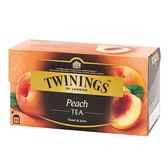 【Twinings唐寧茶】香甜蜜桃茶(2gx25入) X3入