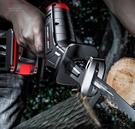 充電鋸 手電電鋸家用充電式小型戶外手持電動鋸子伐木鋰電馬刀往復鋸TW【快速出貨八折下殺】