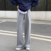 闊腿褲女燈芯絨褲子垂感高腰休閒褲冬季新款顯瘦長褲寬鬆直筒褲潮