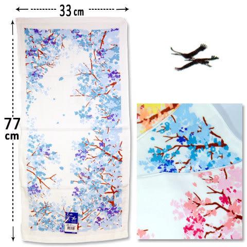 紗布毛巾 櫻花樹款 台灣製 雙鶴 SHUANG HO