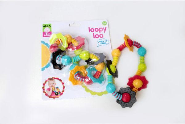 【奇買親子購物網】美國ALEX 淘氣麥斯系列-歪七扭八固齒玩具