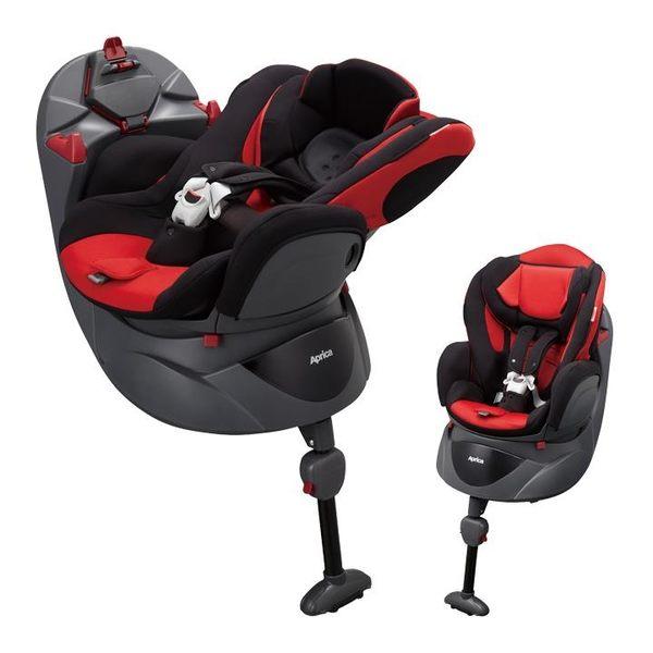 【愛吾兒】Aprica Fladea STD 新生兒平躺型嬰幼兒汽車安全座椅 聖誕紅